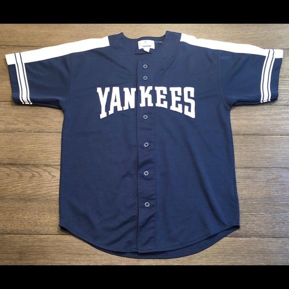 new styles a60e3 85b95 Vintage Starter NY Yankees Derek Jeter Jersey